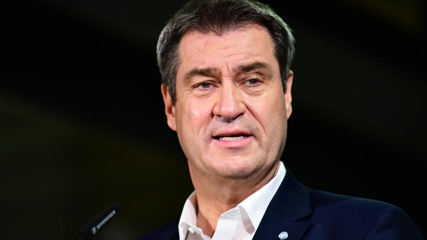 CSU-Chef Markus Söder hat an den historisch schlechten Zustimmungswerten seiner Partei zu knabbern, kann ihnen aber dennoch Positives abgewinnen.