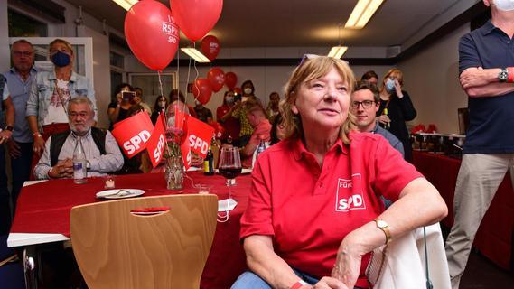 Große Freude: So war die Wahlparty der SPD in Fürth