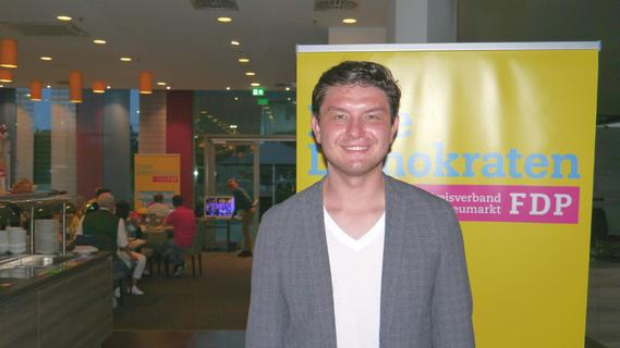 Wahlkreis Amberg: FDP-Kandidat Gründer bangt