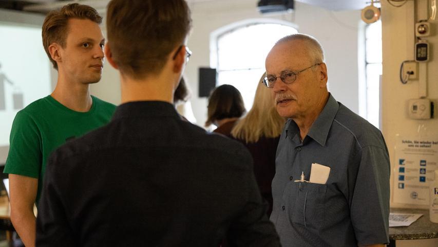 MOTIV: Wahlparty der Grünen in der Kofferfabrik; FOTO: Tim Händel; DATUM:  26.09.2021