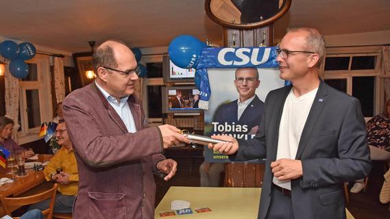 Winkler holt das Direktmandat: Erleichterung bei der CSU im Wahlkreis Fürth