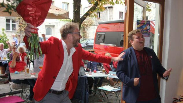 Sitz so gut wie sicher: SPD in Roth und Nürnberger Land feiert Jan Plobner
