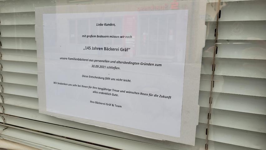 Eine Nachricht für die treuen Kunden.