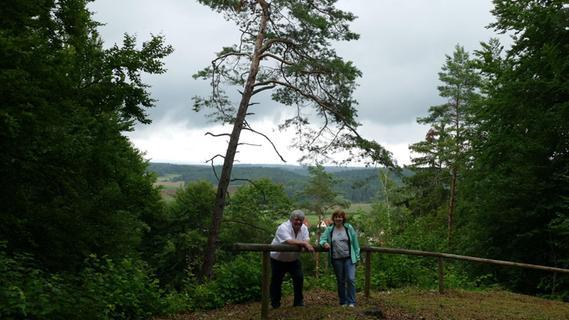 Beliebter Treff für die Dorfjugend: Der Plecher Gottvaterberg