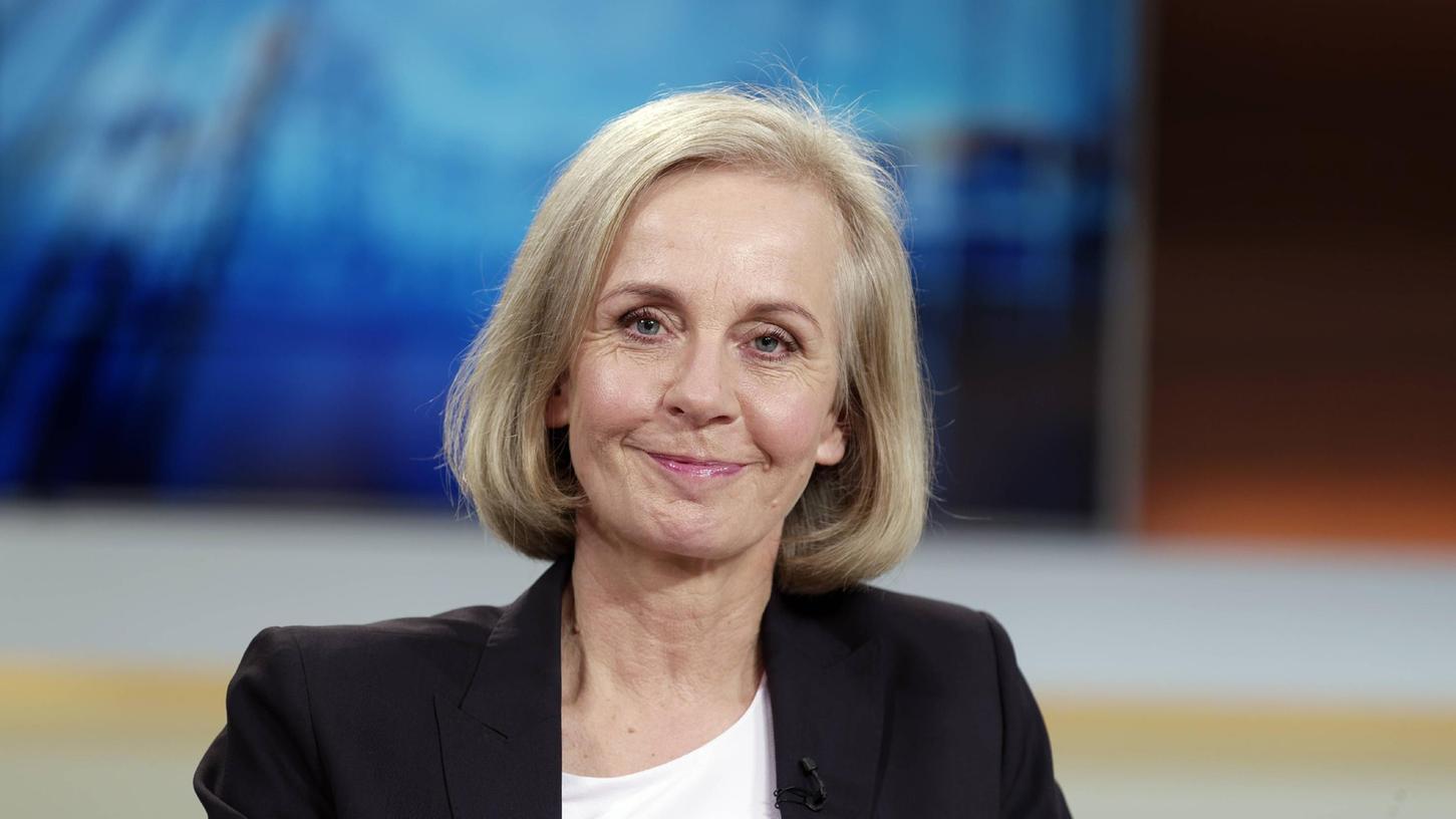 Ursula Münch, Politikwissenschaftlerin, zu Gast bei Anne Will in der ARD im Jahr 2018.