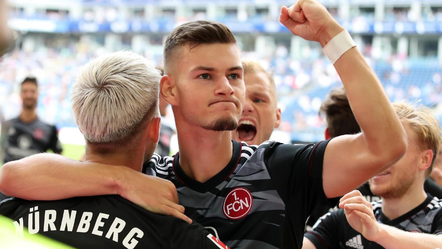 Ungeschlagen und Spaß dabei: Lino Tempelmann, Tom Krauß, Mats Möller Daehli und Johannes Geis (v. l.) brachten auch aus Hamburg einen Punkt mit.