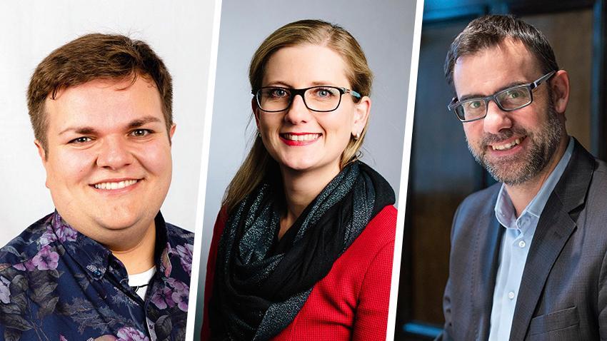 Jan Plobner (SPD), Kristine Lütke (FDP) und Ralph Edelhäußer (CSU) ziehen für den Wahlkreis Roth/Nürnberger Land in den Bundestag ein.