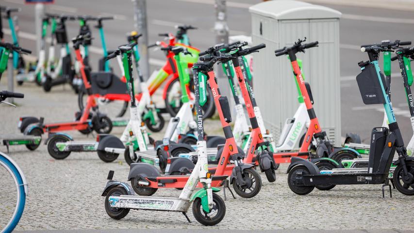 Ab Freitag sind in Schwabach die E-Scooter los!