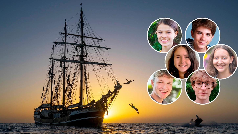 Am 17. Oktober sticht die Thor Heyerdahl wieder in See. Diesmal mit an Bord:Adele, Felix, Marlene, Paul, Sophia und Tom aus der Metropolregion.