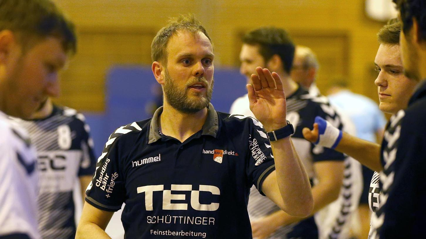Dirk Samel ist als Trainer zu den Forchheimer HC-Handballern zurückgekehrt.