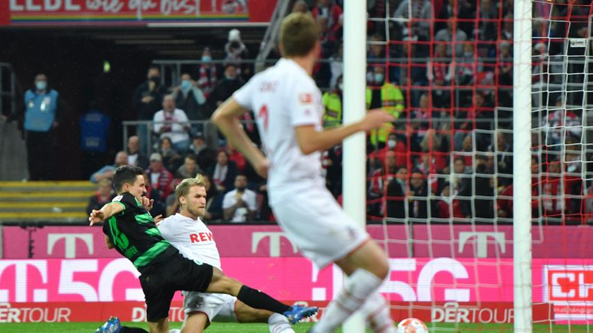 Doppelpfosten beim 1:3! Köln knickt das Kleeblatt - die Bilder