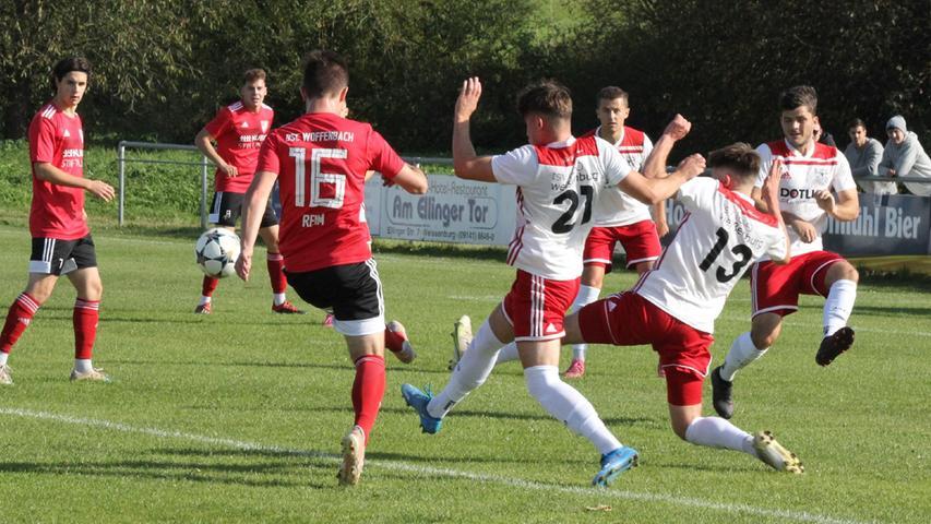 300 Zuschauer beim 2:0-Sieg des TSV 1860 Weißenburg gegen Woffenbach
