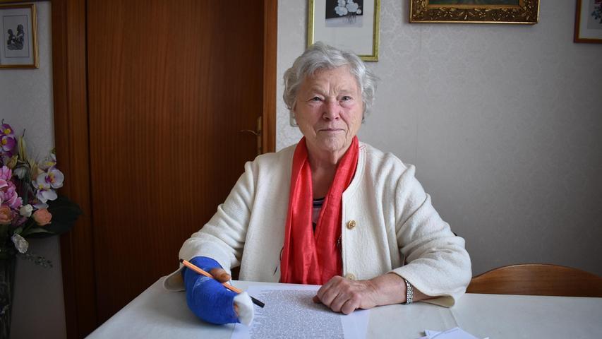 Die Gräfenbergerin Katharina Wittenberg geht als Vorbild voran