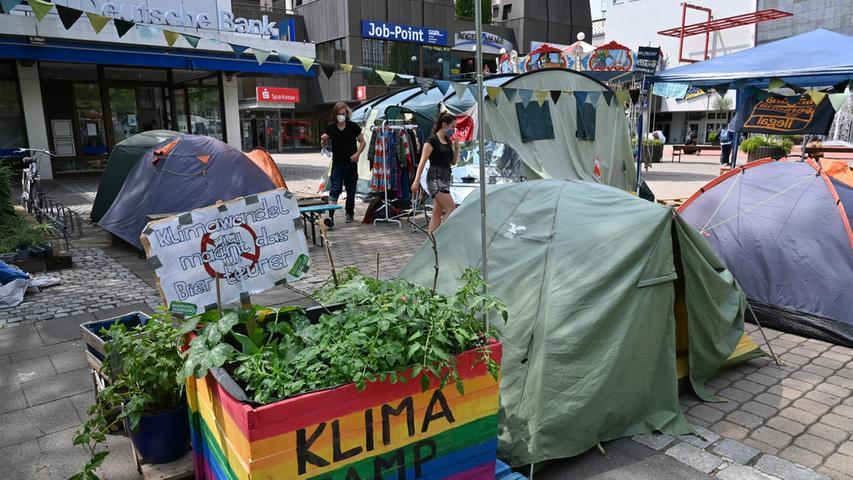 Nach 124 Tagen Dauerprotest: Erlanger Klimacamp bricht Zelte ab