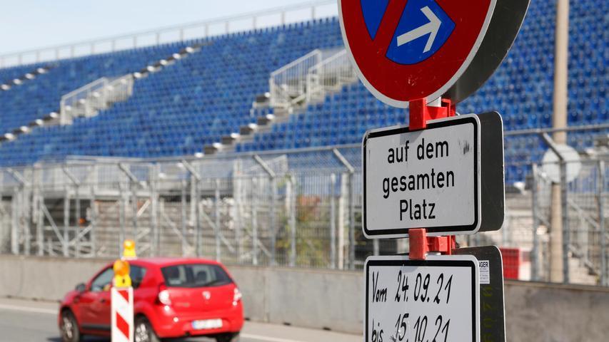 Für Autofahrer ist das Rennwochenende stets mit Einschränkungen verbunden.Rund um das Areal der Beuthener Straße und der Zeppelinstraße wird es somit zu Verkehrsbehinderungen kommen, denn natürlich sind diese Straßen das ganze Wochenende über gesperrt.