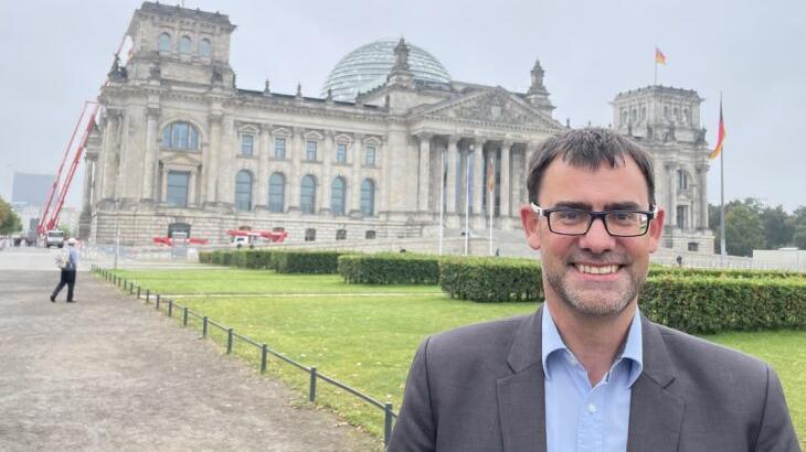 Wahl gewonnen, aber im Bundestag nimmt Ralph Edelhäußer wahrscheinlich auf der Oppositionsbank Platz.