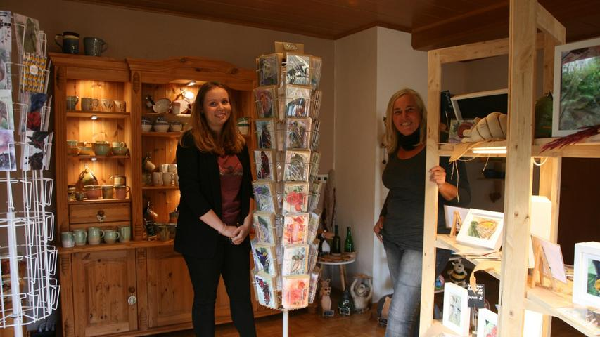 Und im neuen Verkaufsraum hoffen die beiden bald erste Kunden zu empfangen.