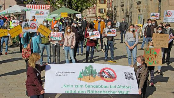 Sandabbau bei Röthenbach nicht raumverträglich – Abbau auf kleinerem Gebiet?
