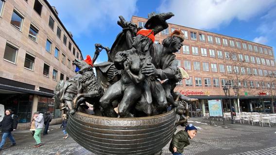 Warum nicht alle Nürnberger Brunnen beschildert sind
