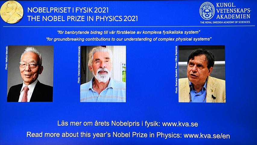 Deutscher Forscher ausgezeichnet: Physik-Nobelpreis für Klimamodellierer