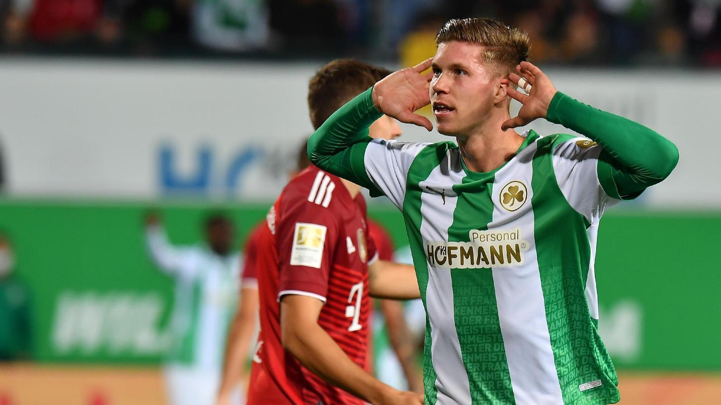 Wenn Cedric Itten demnächst das Publikum hören will, könnte die Ressonanz noch lauter ausfallen als zuletzt gegen den FC Bayern.