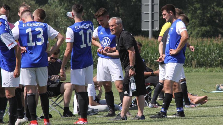 Da half alles Reden von Trainer Utz Löffler nichts: der FC Nagelberg ging ausgerechnet im Schambacher Kirchweihspiel mit 0:8 gegen die DJK Gnotzheim unter.