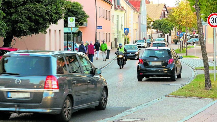 Einbahnregelung in der Weißenburger Straße?