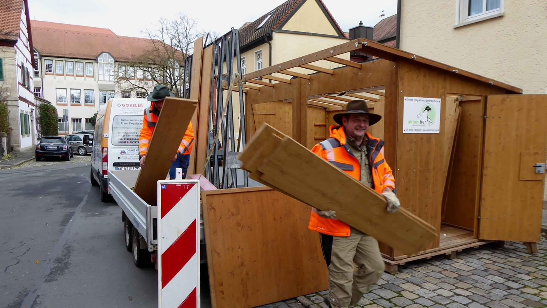 Die Buden sollen in einem sehr viel größeren Bereich in der Innenstadt aufgestellt werden, um den Weihnachtsmarkt nach den Hygienebestimmungen und Abstandsregeln durchführen zu können.