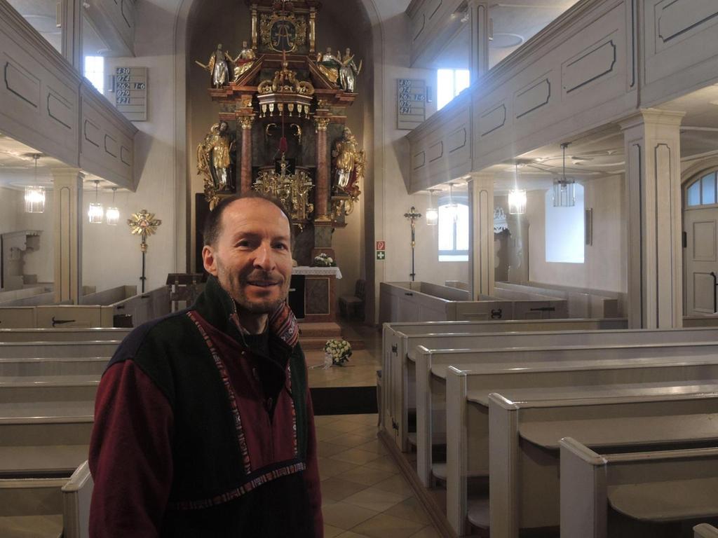 """Die historischen """"Rivalitäten"""" zwischen Plech und Velden sind längst Geschichte, erklärt Pfarrer Christoph Weißmann. Im Kern sei es auch nie um theologische Fragen oder Glaubensdinge gegangen, sondern schlicht ums Geld."""
