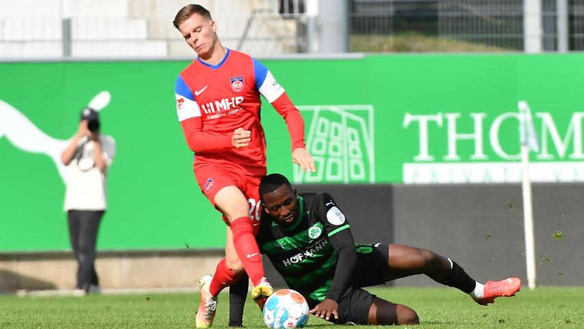 A glimmer of hope in the dark: Timothy Tillman convinces with the Kleeblatt – SpVgg Greuther Fürth