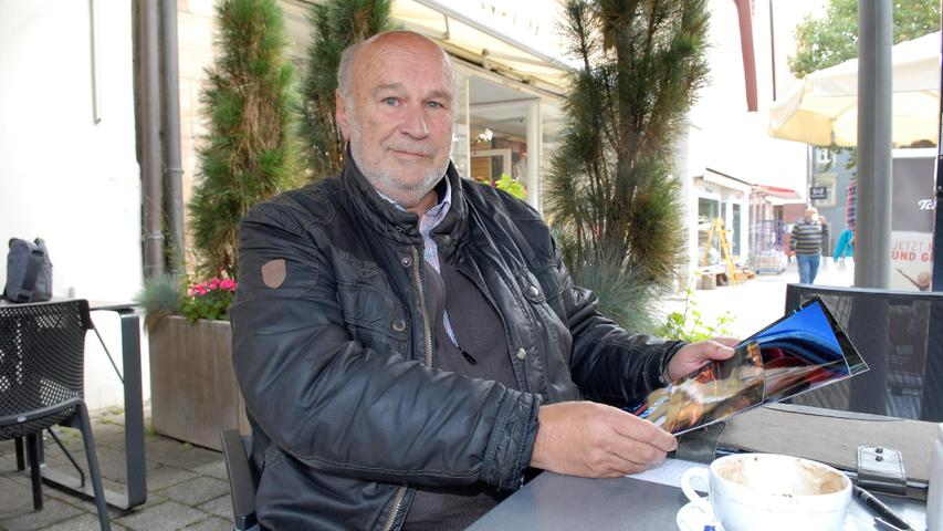40 Jahre danach: Ex-Rennfahrer Kurt König aus Schwabach erinnert sich vor dem DTM-Finale.