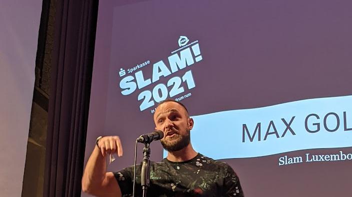 Max Golenz: Der Deutschlehrer ärgerte sich in einer wütenden Protestrede gegen die um sich greifenden Anglizismen.