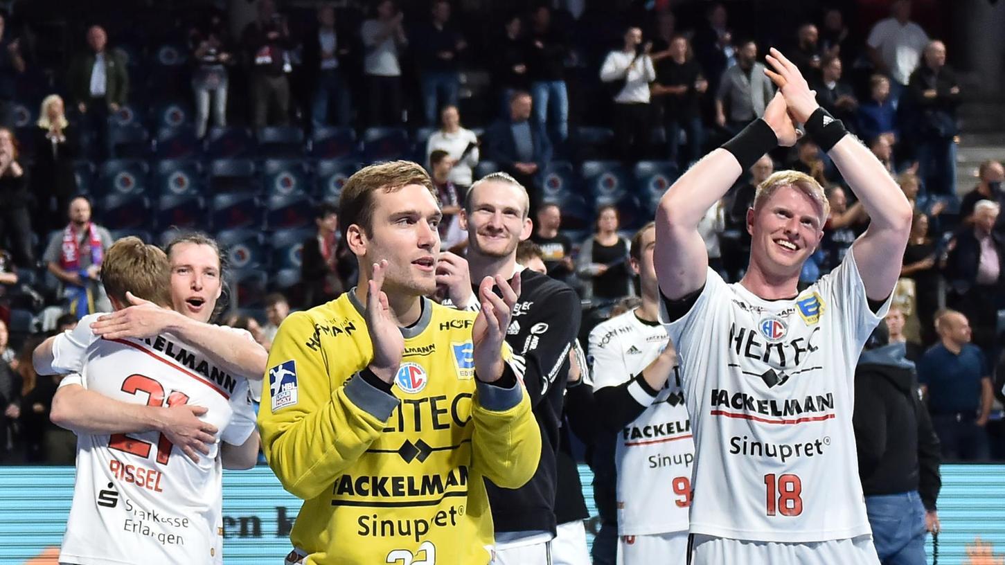 Applaus, Applaus: Klemen Ferlin und der HC Erlangen wollen mehr davon.