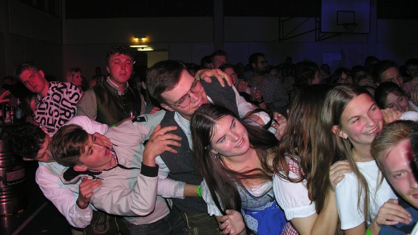 Partystimmung bei