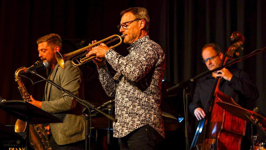 Joker im Lutz Haefner Quintett ist der belgische Komponist und Jazztrompeter Bert Joris.