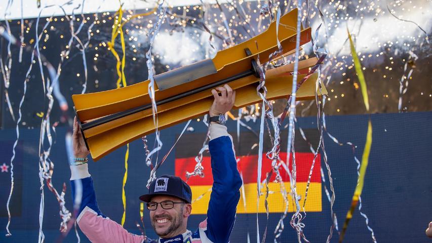 Was für ein Wochenende in Nürnberg! Einer,der schon viel erlebt hat im Motorsport - und der trotzdem überwältigt ist von den Ereignissen:Maximilian Götz ausUffenheim gewann gleich zweimal am Norisring.
