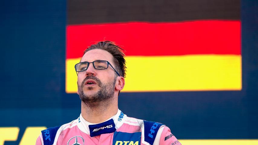 Der 35-jährige Franke darf sich nun DTM-Champion nennen.