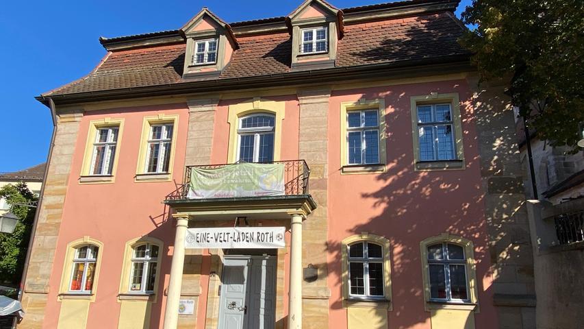 Das Alte Rathaus im Herzen Roth steht zur Disposition.