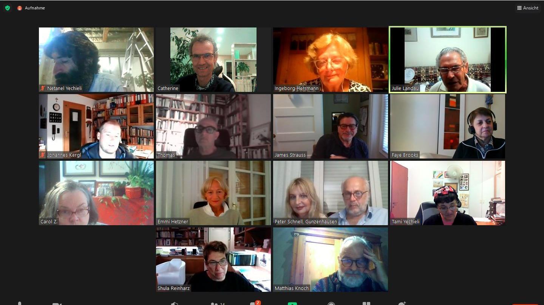 Annäherung der besonderen Art: Per Zoom-Konferenz trifft sich die deutsch-jüdische Dialoggruppe einmal im Montag.