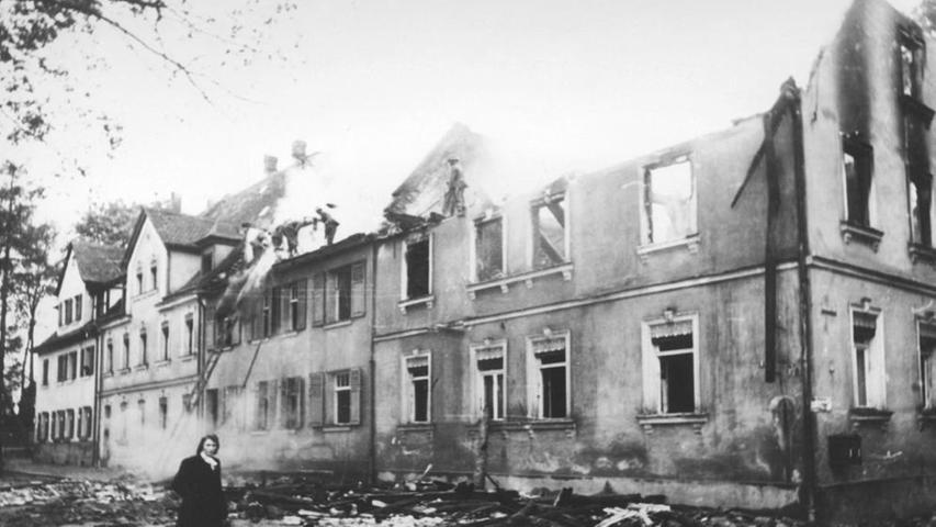 Die Schäden in der Rechswaisenhausstraße 4-8