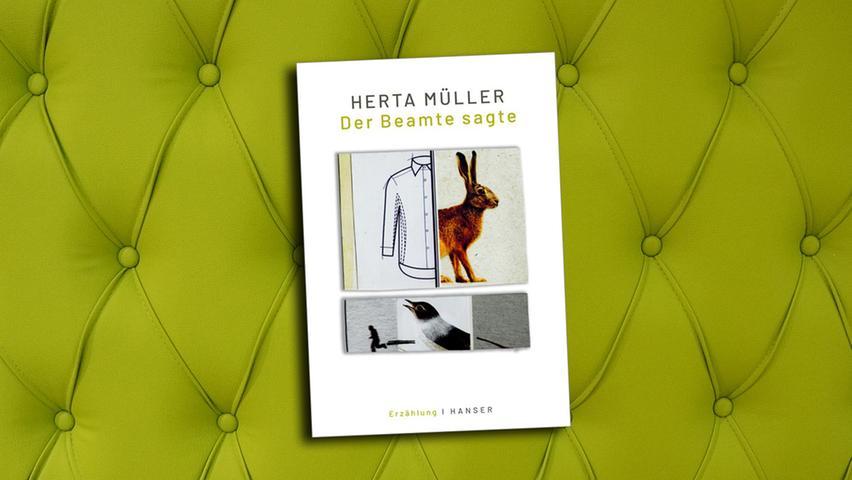 Nach dem Literaturnobelpreis empfiehlt sich Herta Müller weiter als Anwärterin auf den Collagennobelpreis.
