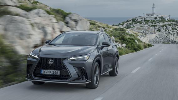 Toyotas Luxus-Label: Der Lexus NX tankt jetzt auch Strom