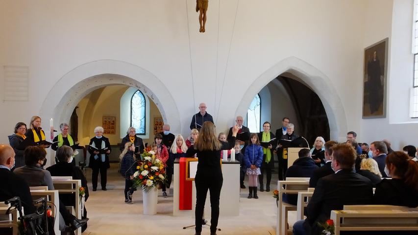 Evangelische Kirche Weisendorf ist wieder offen