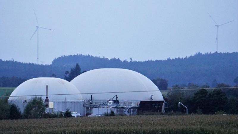 In Breitenbrunn wird mit Wasser, Wind und Biomasse (hier bei Dürn) das Dreifache von dem an Strom pro Jahr erzeugt, was die Bürger verbrauchen.