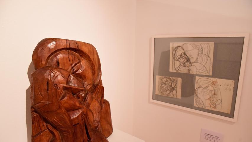 Auch mit dem Werkstoff Holz konnte Felix Müller gut umgehen. Hier eine