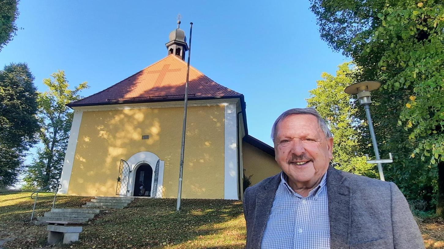 Über Jahrzehnte kümmerte sich Wolfgang Meiler um die Magdalenenkapelle in Ranna. Er organisierte Gottesdienste und Arbeitsdienste und legte bei Renovierungsmaßnahmen auch selbst mit Hand an.