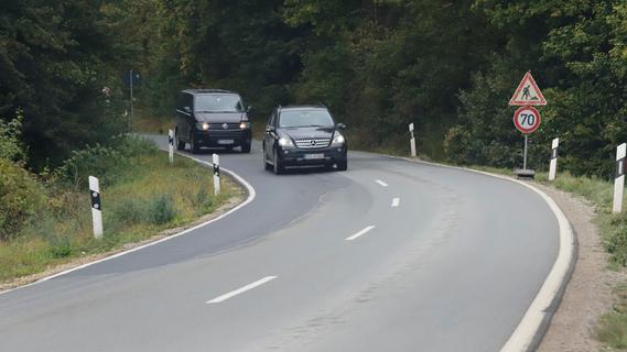 Wird die Straße über die Retterner Kanzel entschärft und mit einem Radweg versehen?