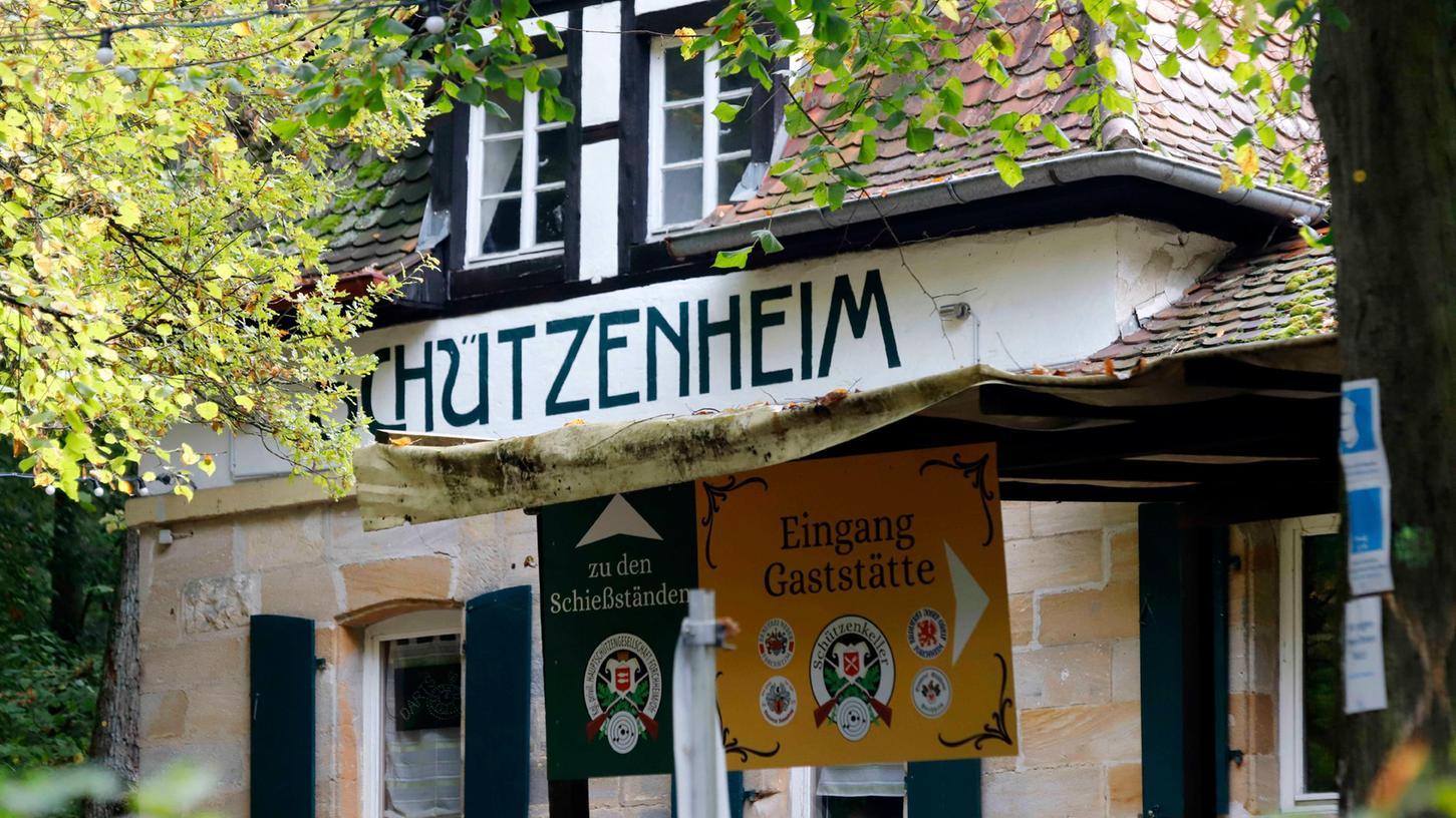 Am Schützenheim des Forchheimer Schützenkellers: Beim Preisschießen der Hauptschützen ereignete sich 1844 ein tragischer Unfall - mit tödlichen Folgen.