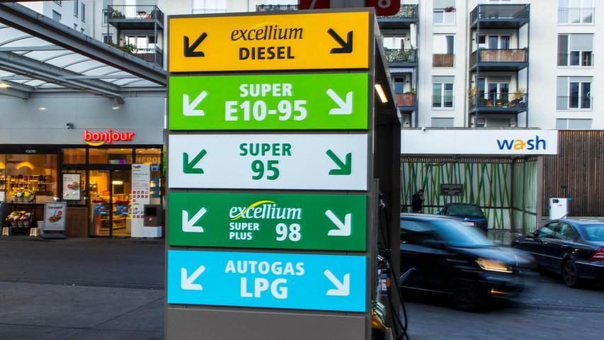 Energiepreise steigen stark: Inflationsrate über 4 Prozent
