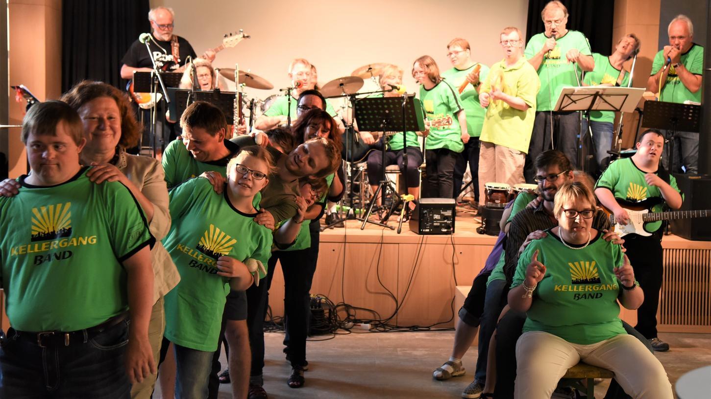 Beim Musikfestival 2018 haben die Kellergangband mit denRock-Sixties und anderen den Klostersaal in Bewegung gebracht.